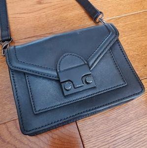 Loeffler Randall Mini Rider leather crossbody bag